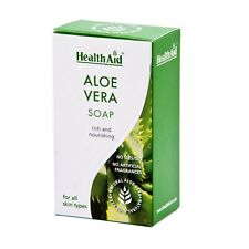 HEALTHAID ALOE VERA SOAP FOR ALL SKIN TYPES - NO PARABENS / SLS / SLES