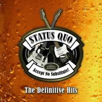 Accept No Substitute-The Definitive Hits (3CD) von Status Quo (2015), Neu OVP