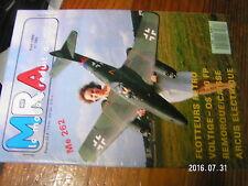1µ?§ Revue MRA n°585 Plan encarté Remorque caisse de terrain / Me 262A Arcus