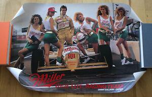 "Danny Sullivan - Miller High Life w/Girls Pit Stop 1985? INDYCAR Poster 30""x20"""