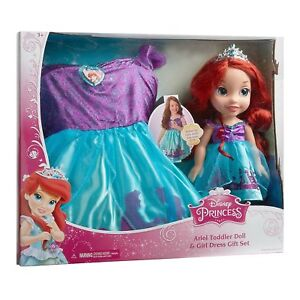 New Ariel and Matching Girl Dress with Disney Princess