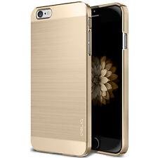 iPhone 6 6S Ultra Thin Gold Brushed Metallic Case[Obliq SLIM META] Made in Korea