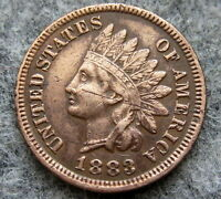 UNITED STATES 1883 CENT INDIAN HEAD