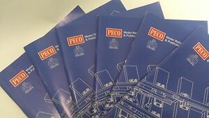 * Peco Catalogue x 1 Collectors 60 years Edition 2006 Brand New From Stock (PL)