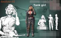 1:35 resin soldiers figures model WW II German tank girl ,assault Gunner NO325