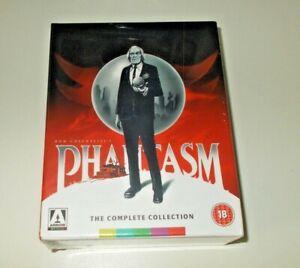 Phantasm Blu ray box set Brand new & sealed Region B Arrow Video parts 1 - 5