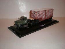 1/43 905202 DIP MODELS GAZ-92-06 + samitrailer truck 1970's