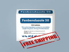 Fengelmin Panacur Canine Dewormer Helmintazole (fenbendazole), 50 mg 100 tablet