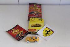 Micro Cars 2015 FERRARI Cards + stickers + libretto Numero 9 FERRARI 250 GTO