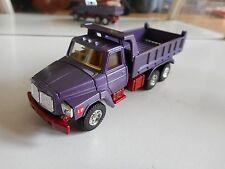 Tomica Dandy Nissan Diesel UD Dump Truck in Purple on 1:70
