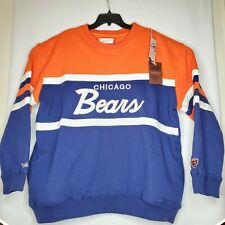 Mitchell & Ness Chicago Bears NFL Men's Head Coach Crew Sweatshirt Size 2XL