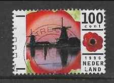 NETHERLANDS POSTAL ISSUE - 1996 USED COMMEMORATIVE - HOLIDAYS - WINDMILLS - 100c