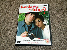 HOW DO YOU WANT ME ? : COMPLETE COLLECTION TV DRAMA DVD IN VGC (FREE UK P&P)