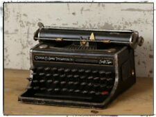 Aged Victorian type `Reproduction Metal` Antique Decor `Cooper Typewriter`