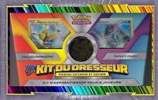 🌈Kit du Dresseur : Pikachu Catcheur Et Suicune - Version Or - Pokemon Neuf