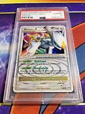 2009 Pokemon TCG Platinum Arceus LV. X Arceus Holo PSA 10 GEM MINT 94/99 LOW POP