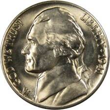 1941 D 5c Jefferson Nickel US Coin BU Uncirculated Mint State
