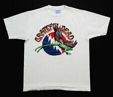 Grateful Dead Shirt T Shirt 1995 Summer Tour Toad Frog Winged Dates Vintage XL