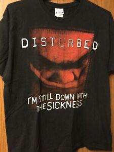 Disturbed.  Black Shirt.  Adult XL.