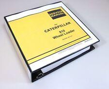 Cat Caterpillar 910 Wheel Loader Service Repair Manual Serial No 40y 41y Book