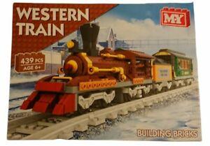 M.Y Western Train 439 Pieces Building Bricks Set