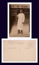 OHIO OAK HARBOR BOWERSOX & SON Wm BROUGH PEACHES REAL PHOTO AZO BACK CIRCA 1910