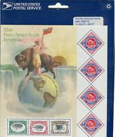 "USPS ""The Pan American Inverts Stamps"" Vintage MNH 2000"