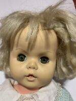 """26"""" Unmarked Play Pal Companion Type Life Size Toddler Vinyl Drink Wet Baby Doll"""