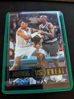 Skybox Alonzo Mourning Vs. Shaq Shaquille O'Neal Showdown Series 1993 #SS3 SP