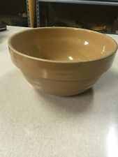 Vintage Stoneware Advertising 9 Inch Bowl Bill's Hardware St. Peter, Minnesota