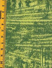 PAINT BOX 1 3542 GREEN  100% Cotton Fabric priced by 1/2 yd