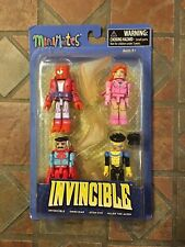 Image Minimates INVINCIBLE BOX SET Skybound Kirkham Atom Eve Omni Man Allen