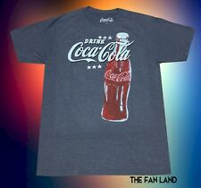 New Coke-Cola Classic Bottle Logo Signs Vintage Soda Mens T-Shirt