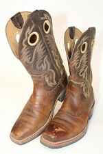 Ariat Mens Size 7 D 39 M Roughstock Leather Mid Pull On Western Boots 34824