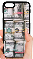 $100 DOLLAR BILLS MONEY PHONE CASE COVER FOR IPHONE XS MAX X 8 7 6S 6 PLUS 5 5C