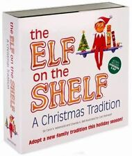 The Elf on the Shelf Christmas Tradition Boy Blue Eyes Light Skin NEW