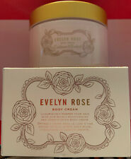 CRABTREE & EVELYN * EVELYN ROSE *  BODY CREAM NEW & BOXED!  SUPER RARE FREE SHIP