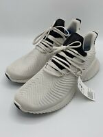 Adidas AlphaBounce Instinct Shoes (Size 11) Mens NEW White/Black D96542 Sneakers