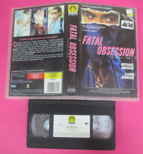VHS film FATAL OBSESSION To kill for 1991 Michael Madsen MEDUSA (F133) no dvd