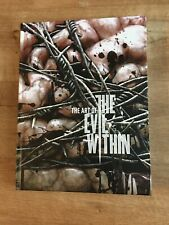 The Art Of Evil Within Hardcover Book OOP RARE DARK HORSE FIRST EDITION BN
