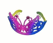 Pack Of 15 Rainbow Princess Tiara Crown Girls Costume Party Fancy Dress Up