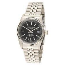 Steel Quartz Watch #3635-Wb Charles-Hubert- Paris Mens Stainless