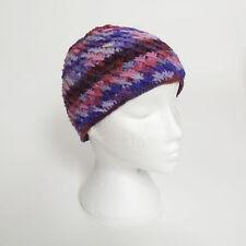 HAND Knitted Invernale di Lana Uncinetto Cappello Beanie, Taglia unica, unisex CH9