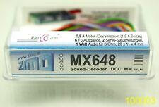 Zimo MX648 Lok-Decoder Subminiatur-Sound-Decoder,  Loco Decoder