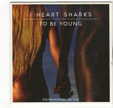 (EZ565) I Heart Sharks, To Be Young - 2014 DJ CD