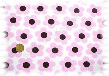 Mariella  Jersey weiß rosa Hilco Blumenstoff 50 cm Baumwolljersey
