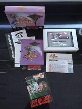 Snes Lufia Boxed Complete Mint Super Nintendo Perfect Example CIB Collectors