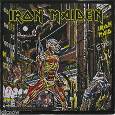 """Iron Maiden- Somewhere in Time - Patch 10cm X 9.5cm (4"""" X 3-3/4"""")"""