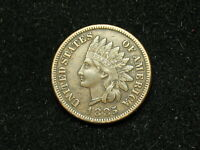 NEW INVENTORY COIN AU 1885 INDIAN HEAD CENT PENNY FULL LIBERTY & DIAMONDS #150h