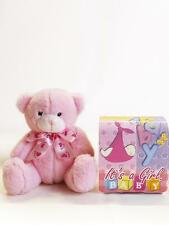 Unique Teddy Bear It's a Girl!  Favour. Welcome the Princess Baby Girl